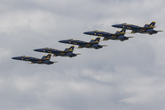 Blue Angels (player_pleasure) Tags: air airshow dayton ohio plane flight fighterjets usnavy freedom fighter