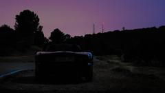 Mazda MX5 NB (iRafaNavarro) Tags: mazda mx5 nb miata azul descapotable roadster topmiata covertible eunos carretera sierra carporn nocturna night light trails streaks car