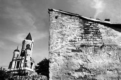 Zemun (electricnerve) Tags: gardostower zemun beograd belgrade serbia ilforddelta100 ilford delta blackandwhite film nikkor 20mm ƒ35
