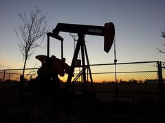 Past memory sunset. (Darrell_pics) Tags: sunset weather sky scenic landscape travel lubbock texas elements explore well oil drill pump