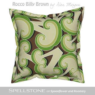 Rocco Bil'ly brown by Alex Morgan