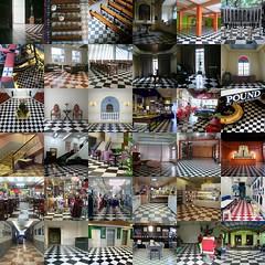 Checkered Floors of Manila (David Montasco) Tags: checkeredfloor manila collage