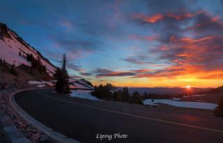 Sunset @ Crater Lake NP