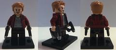 Custom LEGO Starlord (Max Logue) Tags: lego custom painted marvel avengers infinity war starlord chris pratt peter quill guardians galaxy