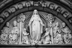 Sligo Cathedral (Infrakrasnyy) Tags: infrared bw 093 deep black white colorless monochrome sony nex 5n full spectrum ireland erie irish sligo