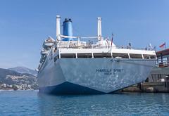 Fantail of the Marella Spirit (dcnelson1898) Tags: monaco coast france frenchriviera port vacation travel cruise cruiseship hollandamericaline oosterdam