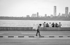 Mumbai Life (Robert Borden) Tags: boys friends hangingout mumbai bombay india 50mm 50mmlens fuji fujifilm fujifilmxt2 fujiphotography monochrome blackandwhite bw blancoynegro street streetphotography urban