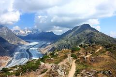 Aletsch Glacier (Victo-photo) Tags: switzerland swiss glacier landscape 瑞士 beautiful aletsch