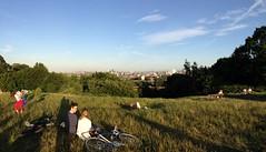 Hampstead Heath (London and more) Tags: hampstead heath london camden hill view grass sunny sky