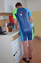 Přistižen... / Caught... (mermanpetleotard) Tags: plavky jednodílné onepiece swimsuit swimwear einteiligen badeanzug badeanzüge maillots de bain lycra spandex leotard trikot wetsuit
