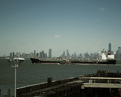 The Chemstar Masa (Photographs By Wade) Tags: newyorkcity newyork statenisland manhattanskyline chemstarmasa cargoship freighter newyorkharbor ship vessel tugboat