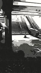 (sftrajan) Tags: cartoonized metro station muni cartoonphotosoftware edited 2018 sanfrancisco