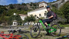 On the way to El Burgo (kate willmer) Tags: bike bicycle mountainbike mountainbiking church valley andalucia spain