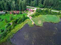 Lake (free3yourmind) Tags: belarus minsk aerial drone quadcopter view green nature summer trees