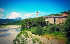 Emilia Romagna river landscape (marionvankempen) Tags: italy river throughherlens