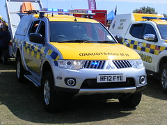 6096 - HM Coastguard - HF12 FYE - 185 (Call the Cops 999) Tags: uk gb united kingdom great britain england 999 112 emergency service services vehicle vehicles