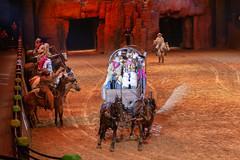 Buffalo Bills - Wild west Show (myfrozenlife) Tags: themepark dineyland europe paris aerialphotos disney