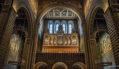 2018 - Hungary - Pécs - Cathedral - Angster Organ Pipes (Ted's photos - For Me & You) Tags: 2018 cropped hungary nikon nikond750 nikonfx pécs tedmcgrath tedsphotos vignetting pécscathedral pécshungaryl organ pipes pipeorgan organpipes church churchinterior arches angsterorganmanufacturecompany józsefangster