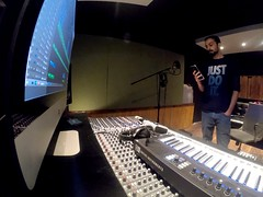 """In My Zone...."" 🎧🎤 (Ali Mannan) Tags: music musician studio recordingstudio musicproducer producer singer rapper songwriter recordingartist recordingmode mac musicstudio"