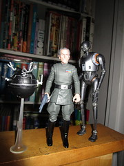IMG_4042 (Brechtbug) Tags: peter cushing grand moff tarkin with death star droid k2so or kaytuesso interrogation wars action figure toy toys villain villains 1964 1960s 60s 1977 1970s 70s movie film science fiction scifi spy adventure hot forbidden planet comics store nyc 2018 comicbook rogue one a new hope