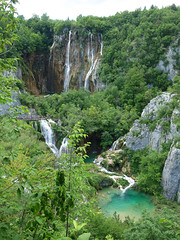 Veliki Slap (Kaeko) Tags: plitvičkajezera plitvicka plitvicelakes plitvice velikislap nationalpark park croatia europe vacation holiday travel nature waterfall lake lakes water trees forest rock landscape tree grass