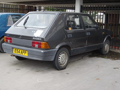 1987 Fiat Strada (Ritmo) 60 CL Mk 3 (Neil's classics) Tags: vehicle 1987 fiat strada ritmo abandoned