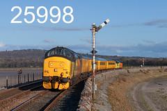 robfrance5d2_25998_130318_x37421_arnside_1q47_col_nr_sig_edr16lr6pse15weblowes (RF_1) Tags: 12csvt 2018 37 37421 absoluteblock absoluteblocksignaling arnside boulogne britain british brushtraction class37 colas colasrailfreight cumbria cumbrian cumbriancoast cumbriancoastline diesel ee england englishelectric freight haulage hauling historical infrastructuremonitoring loco locomotive locomotives locos mechanical networkrail rail railfreight rails railway railways rural safety semaphore signal signaling signals testtrain train trains transport travel uk unitedkingdom victorian westmorland