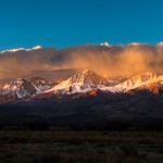 Clouds Over The Eastern Sierra Nevada Mountains thumbnail