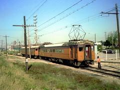 South Shore Bendix 9-2-78 1 (jsmatlak) Tags: chicago south shore bend railroad csssb electric interurban train nictd indiana