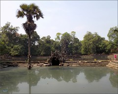 Angkor, Neak Pean Pond 20180203_115904 DSCN2675 (CanadaGood) Tags: asia seasia asean cambodia siemreap angkor neakpean buddhist khmer temple tree archaeology pond pool people person canadagood 2018 thisdecade color colour