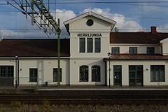 Herrljunga Station (KOKONIS) Tags: building station nikon d600 scandinavia skandinavia europe europa sweden sverige västragötaland herrljunga railway järnväg