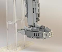MC-75 Profundity, vue de la cabine (Pierre MiniBricks) Tags: lego star wars mini moc mc75 profundity pierre minibricks