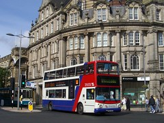 4598 Wolverhampton 2008 (MCW1987) Tags: national express travel west midlands trident bx54dda 4598 alexander alx400 transbus dennis