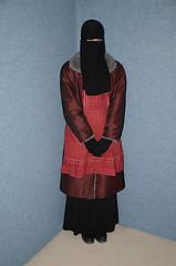 Slave Waitress (Warm Clothes Fetish) Tags: slave chaerwomen maid sweat torture girl niqab hijab hot warm rain boots hat waitress