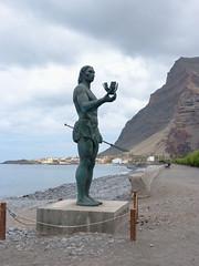 Valle Gran Rey, Hautacuperche szobra (ossian71) Tags: spanyolország spain kanáriszigetek canaryislands lagomera gomera vallegranrey szobor statue