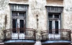 antenne (roberke) Tags: windows ramen vensters house huis balkons outdoor old balconies architectuur smeedwerk roest