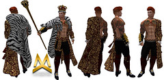 <MK> The King Outfit - Signature Gianni (Mat Kungler Atelier) Tags: mk mat kungler atelier hautecouture mens wear cap body suit catsuit latex clothes acessories pants jeans sweater top tank shirt wool hoodie hair skin coat jacket denim mesh avatar luomo underwear swinwear brief chaps shirts tshirt leather animal texture short plaid jock hud hoddie sleeves neck mask boot shoes gloves second life thong lace toptank suitunder zodiac sign victorian gothic dark aesthetic niramyth the project tmp sking bimbo gianni signature