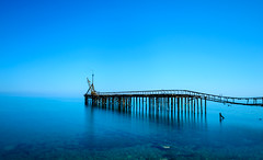 A Blue Moment (George Plakides) Tags: karavostasi jetty abandoned copper mines blue longexposure leendfilter bigstopper