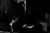 Talk to Me !!! (imagejoe) Tags: vegas nevada strip street black white photography photos shadows reflections tamron people nikon