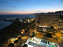 Nightfall From Our Apartment! ('cosmicgirl1960' NEW CANON CAMERA) Tags: marbella spain espana andalusia costadelsol travel holidays yabbadabbadoo