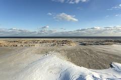 drifting. (stevenbley) Tags: wildwood wildwoodcrest northwildwood nj newjersey beach winter snow offseason hotel motel january shore jerseyshore midcentury snowdrift