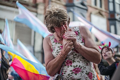 Middle England (Aaron Anfinson) Tags: nottingham pride protest unitedkingdom england notts leica