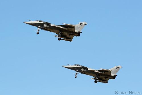 French Navy Rafale Tactical Demonstration -  Landivisiau Naval Air Base