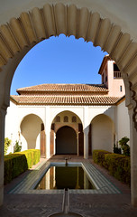 Málaga, een vijver in de Alcazaba, Spanje Andalusië 2018 (wally nelemans) Tags: málaga alcazaba vijver pond garden spanje spain españa andalusië andalucia andalusia 2018
