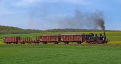 98 886 (maurizio messa) Tags: br98 98886 steam dampf vapore mau bahn bayern ferrovia germania germany extratrain charter fotogüterzug teamlorie treni trains railway railroad nikond40x