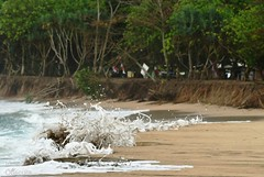 IOI_5899 Charge of the Sea Brigade (Indah Obscura) Tags: salty oceanic sea water wave sandy beach erosion foam action