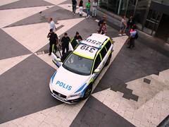 Arrest. Police Volvo (Camera Travels - Please read my Profile. Happy to ) Tags: sweden stockholm arrest police volvo polis
