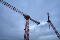 Chantier - Paris (gilles_t75) Tags: d7200 france gillest hdr nikkor1024mmf3545 nikon bracketing exposurefusion highdynamicrange photohdr photomatix tonemapping chantier travaux btp grue dockyard