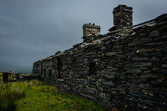 Barracks, Rhos Quarry (Rogpow) Tags: capelcurig rhosquarry slatequarry wales snowdonia moelsiabod northwales slate quarry abandoned derelict decay disused dilapidated ruin industrialhistory industrialarchaeology industrial industry fujifilm fuji fujixpro2 buildings barracks