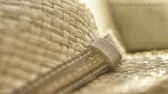 Raffia mesh hat. HMM!! (ChusPS) Tags: mesh macromondays color light summer nikon tamron90mm macro details sun photo photographer photography picture